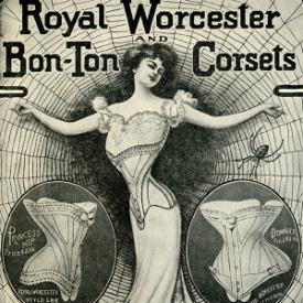 1902 Corset Advertisement -- Ideal rather than actuality