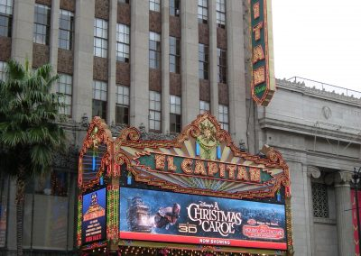 El Capitan Theater, Hollywood