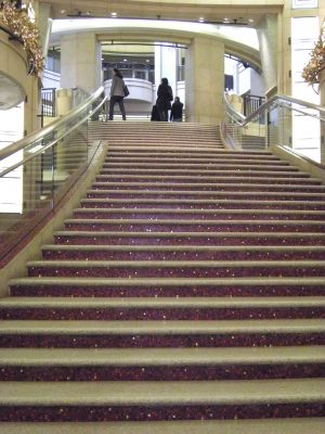 Stairs at the Dolby Theater