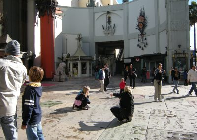 Forecourt of Graumann's Chinese Theater