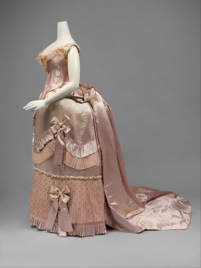 Ball Gown c. 1888