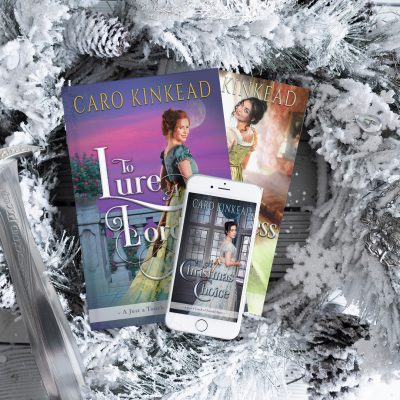 All three books in the Just a Touch of Scandal series
